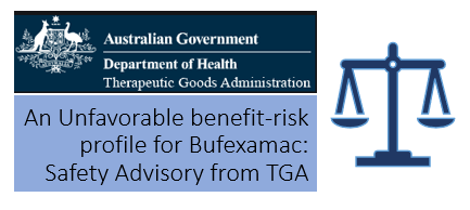 An Unfavourable benefit-risk profile for Bufexamac: Safety Advisory from TGA